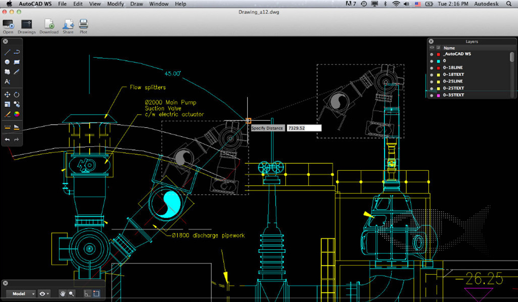 AutoCAD WS for Mac and iOS Review - MacReview.com: macreview.com/2012/10/autocad-ws-for-mac-and-ios-review