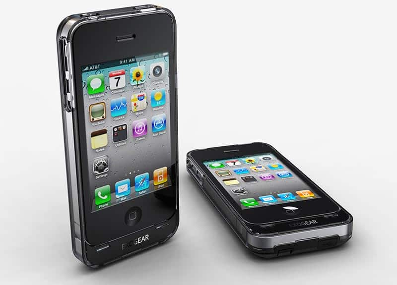 Exolife battery case for iPhone 4/4S