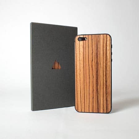 Monolith's Wooden Skin For iPhone 5
