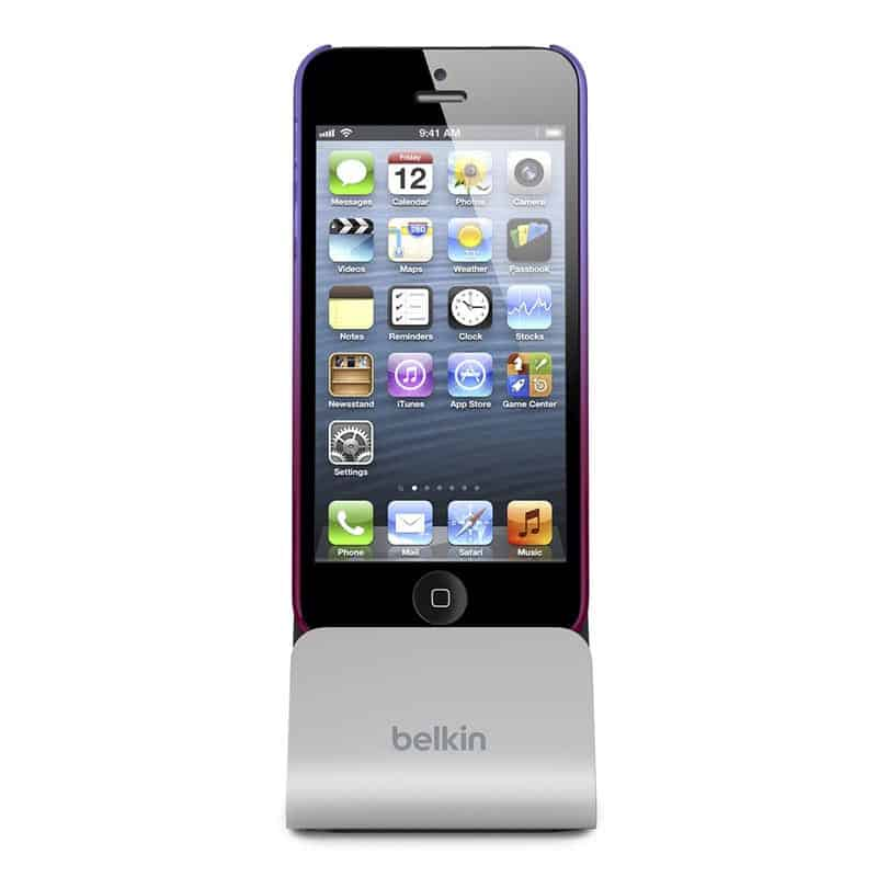 Belkin's Charge + Sync Dock for iPhone 5