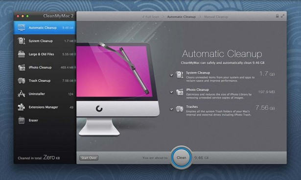 CleanMyMac 2 1