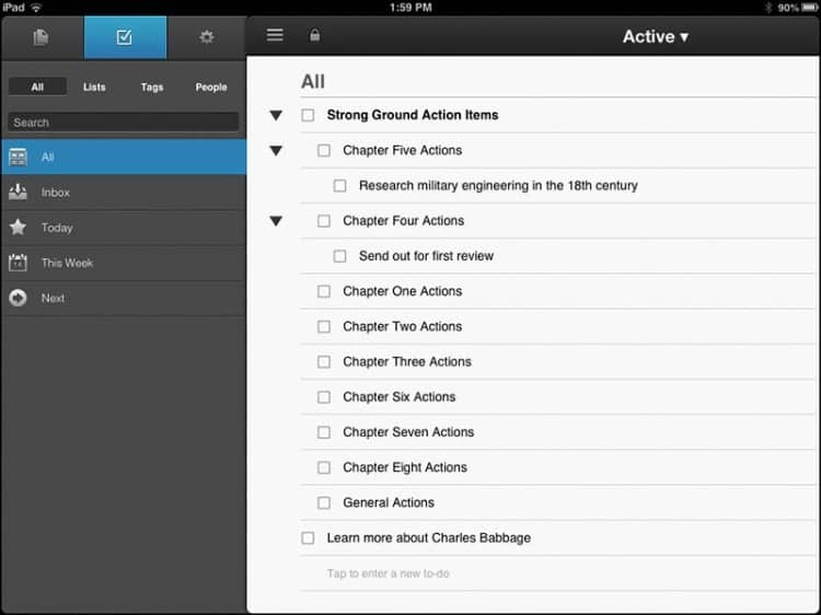 NoteSuite for iOS 2