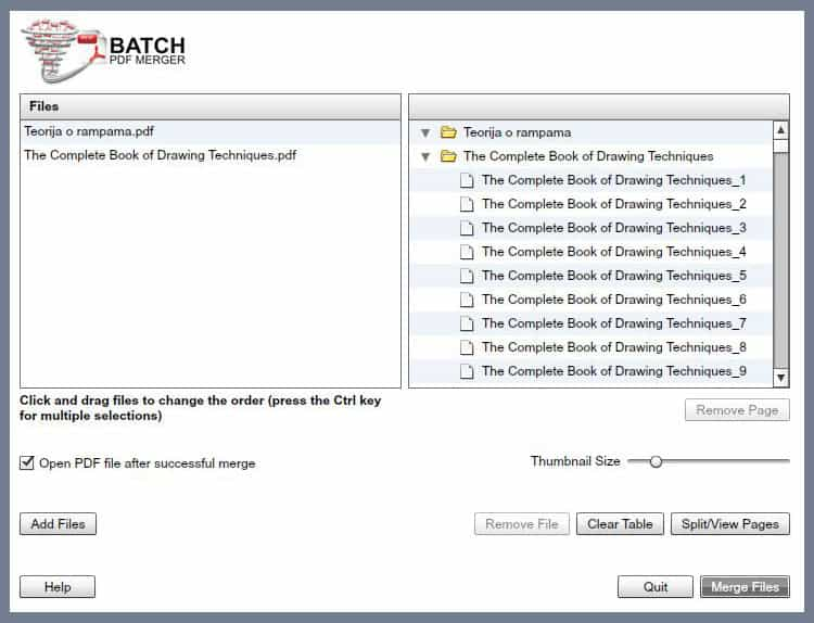 Batch PDF Merger 2