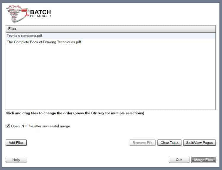 Batch PDF Merger 3