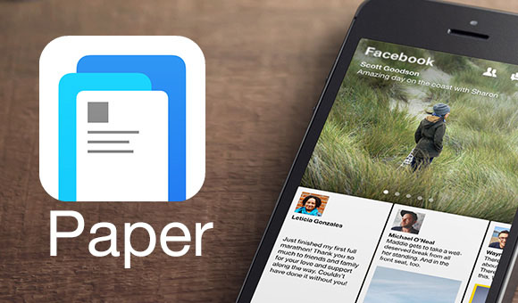 Paper, by Facebook